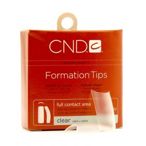 CND - Brisa Sculpting Gel - Formation Clear Tips - Nr. 9