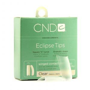 CND - Brisa Sculpting Gel - Eclipse Clear Tips - Nr. 10
