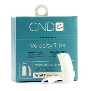 CND - Brisa Sculpting Gel - Velocity White Tips - 360 Stuks
