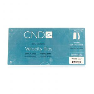 CND - Brisa Sculpting Gel - Velocity Clear Tips - 360 Stuks