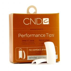 CND - Brisa Sculpting Gel - Performance White Tips - Nr. 8