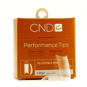 CND - Brisa Sculpting Gel - Performance Clear Tips - Nr. 9