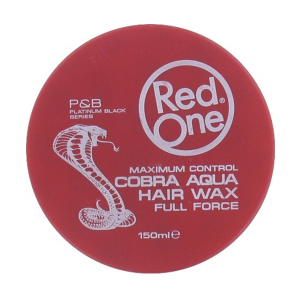 Red One - Cobra - Aqua Hair Wax - Full Force - 150 ml