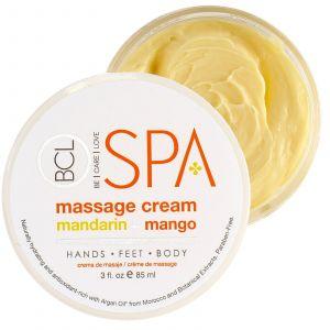 BCL SPA - Mandarin + Mango - Massage Cream - 89 ml