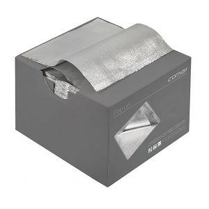 Comair - Aluminiumfolie Pop up - 13 cm x 27 cm - 500 Stuks