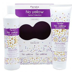 Fanola - No-Yellow - Spice Collection (Incl. No Yellow Shampoo 350 ml + No Yellow Mask 300 ml)