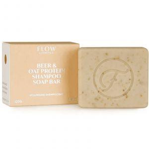 Flow Cosmetics - Biologische Shampoo Bar - Beer & Oat Protein - 120 gr