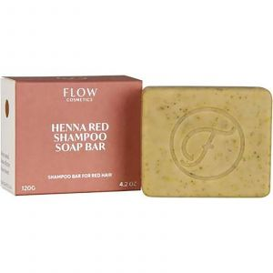 Flow Cosmetics - Biologische Shampoo Bar - Henna Red - 120 gr