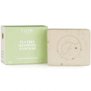 Flow Cosmetics - Biologische Shampoo Bar - Teatree - 120 gr