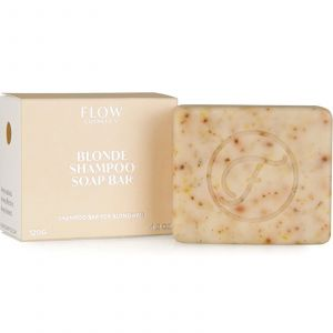 Flow Cosmetics - Biologische Shampoo Bar - Blonde - 120 gr