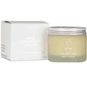 Flow - Hemp Mild Deodorant Cream - 60 ml