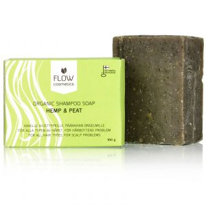 Flow Cosmetics - Organic Shampoo Bar - Hennep & Turf - SALE