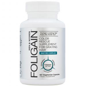 Foligain - Capsules tegen Grijs Haar - 60 Capsules
