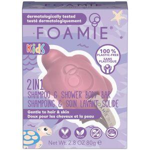 Foamie - Kids - 2-In-1 - Turtely Cute - 80 gr