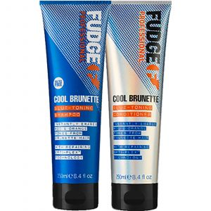 Fudge - Cool Brunette - Blue Toning - Shampoo en Conditioner - 2x250 ml