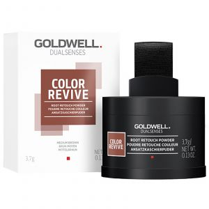 Goldwell - DS - Color Revive - Root Retouch Powder - Medium Brown