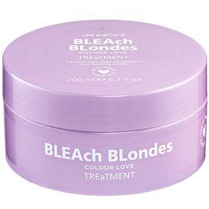 Lee Stafford - Bleach Blondes - Hair Mask - Haarmasker voor Beschadigd Blond Haar - 200 ml