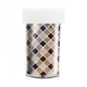 Splendid Nails - Transfer Foil - Zilver Zwart Ruit