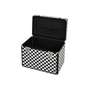 HairForce - Aluminium Kapperskoffer - Zwart & Wit