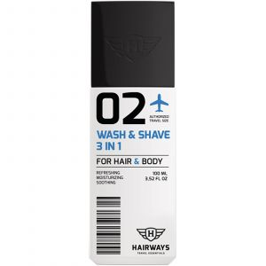 Hairways - 02 - Wash & Shave 3 In 1 - 100 ml