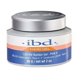 ibd - Hard Gel - LED/UV Builder Gel - Pink V