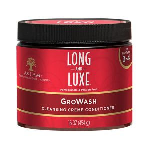 As I am - Long & Luxe Growash Creme Conditioner - 454 gr