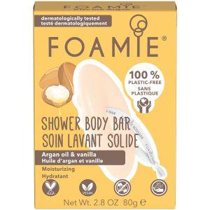 Foamie - 2-In-1 Body Bar - Kiss Me Argan - 80 gr