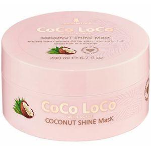 Lee Stafford - Coco Loco - Shine Mask - Haarmasker voor Beschadigd Haar - 200 ml