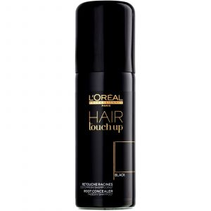 L'Oréal - Hair Touch Up - Black - 75 ml