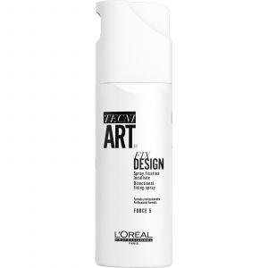L'Oréal - TecniArt - Fix Design 5 - Directional Fixing Spray - 200 ml