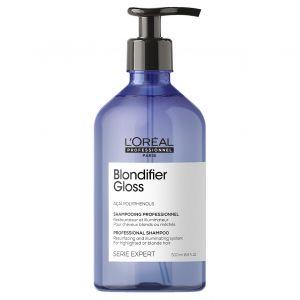 L'oréal - Serie Expert - Blondifier Gloss Shampoo - 500 ml - Nieuwe verpakking