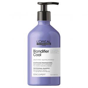 L'Oréal - Serie Expert - Blondifier Cool Shampoo - 500 ml - Nieuwe verpakking