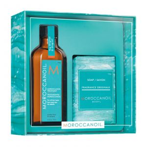 Moroccanoil - Cleanse & Style Duo - Original (Moroccanoil Treatment Original 100 ml + Soap)