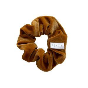 MAE.S - Velvet Scrunchie - Golden Yellow