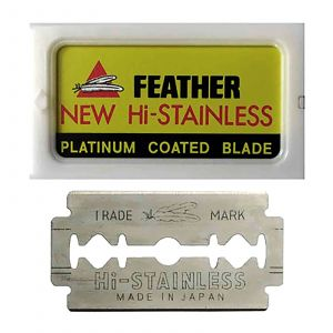 Feather - Double Edge - Scheermesjes - 10 stuks
