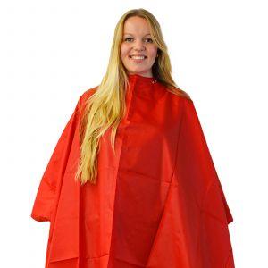 Nebur - Kapmantel Maxi - Bright Red