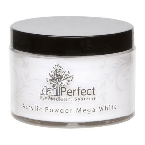 Nail Perfect Acryl Powder Mega White