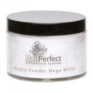 Nail Perfect Acryl Powder Mega White