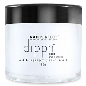 Nail Perfect - Dippn - #001 Soft White - 25gr