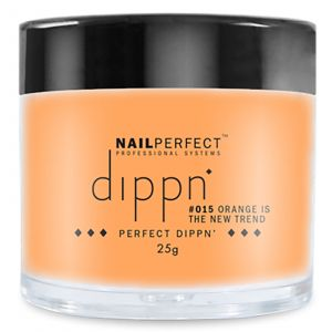 Nail Perfect - Dippn - #015 Orange Is The New Trend - 25gr