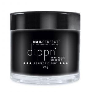 Nail Perfect - Dippn - #038 Black On Black - 25gr