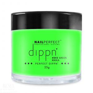 Nail Perfect - Dippn - #045 Green Mania - 25gr