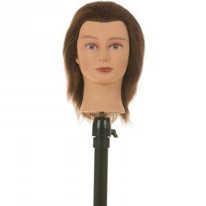 Heads-Up - Kappershoofd Kim - Bruin Haar - 15 cm