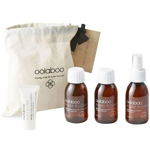 Oolaboo - Super Foodies - Luggage Lovers (Incl. Damage Free Shampoo, Reparative Treatment, Salt Spray + Toothpaste)