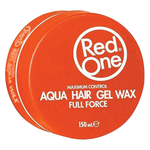Red One - Orange - Aqua Hair Gel Wax - Full Force - 150 ml