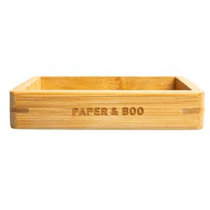 Paper & Boo - Bamboe Zeepbakje