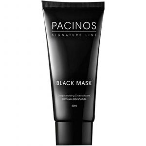 Pacinos - Black Mask - Deep Cleansing Charcoal Peel - 50 ml