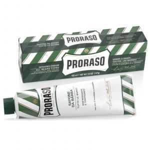 Proraso - Green - Shaving Cream in a Tube - 150 ml