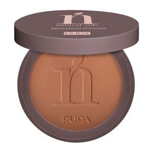 Pupa Milano - Natural Side - Bronzing Powder - 003 Intense Bronze