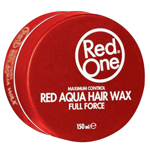 Red One - Red - Aqua Hair Wax - Full Force - 150 ml